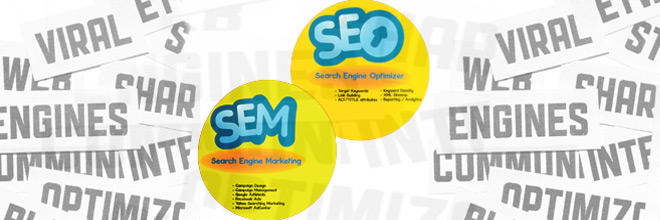 Key differences between SEM and SEO